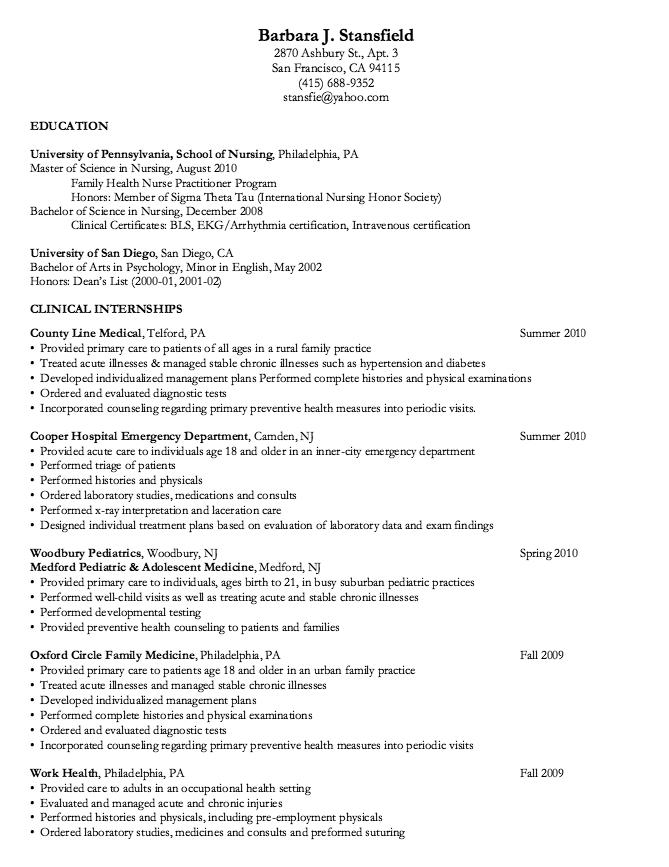 University Sample Resumes - http://resumesdesign.com/university ...