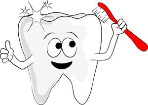 clip art of tooth or teeth teeth clip art images teeth stock rh pinterest com clip art teething ring clip art toothbrush and toothpaste