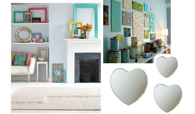decorar las paredes sin hacer agujeros | inspiración salón