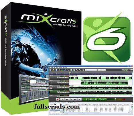 Acoustica Mixcraft 6 Crack plus Serial Key Free Download