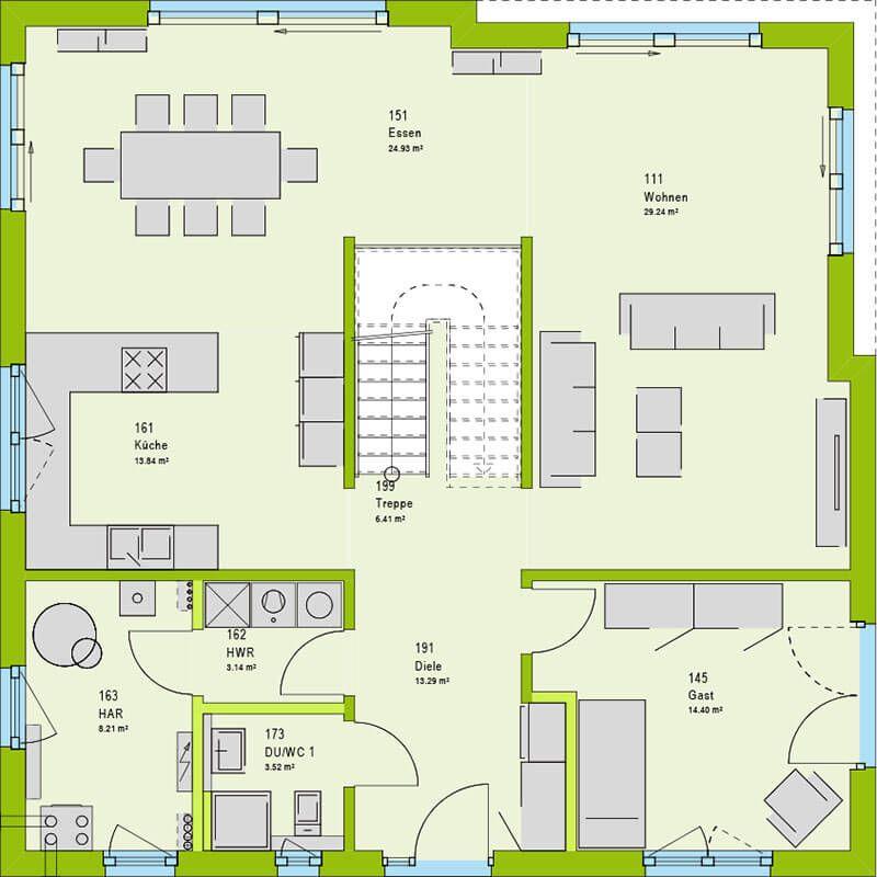 Cube 10 Einfamilienhaus - Fertighaus bauen mit massa haus #casaspequeñas