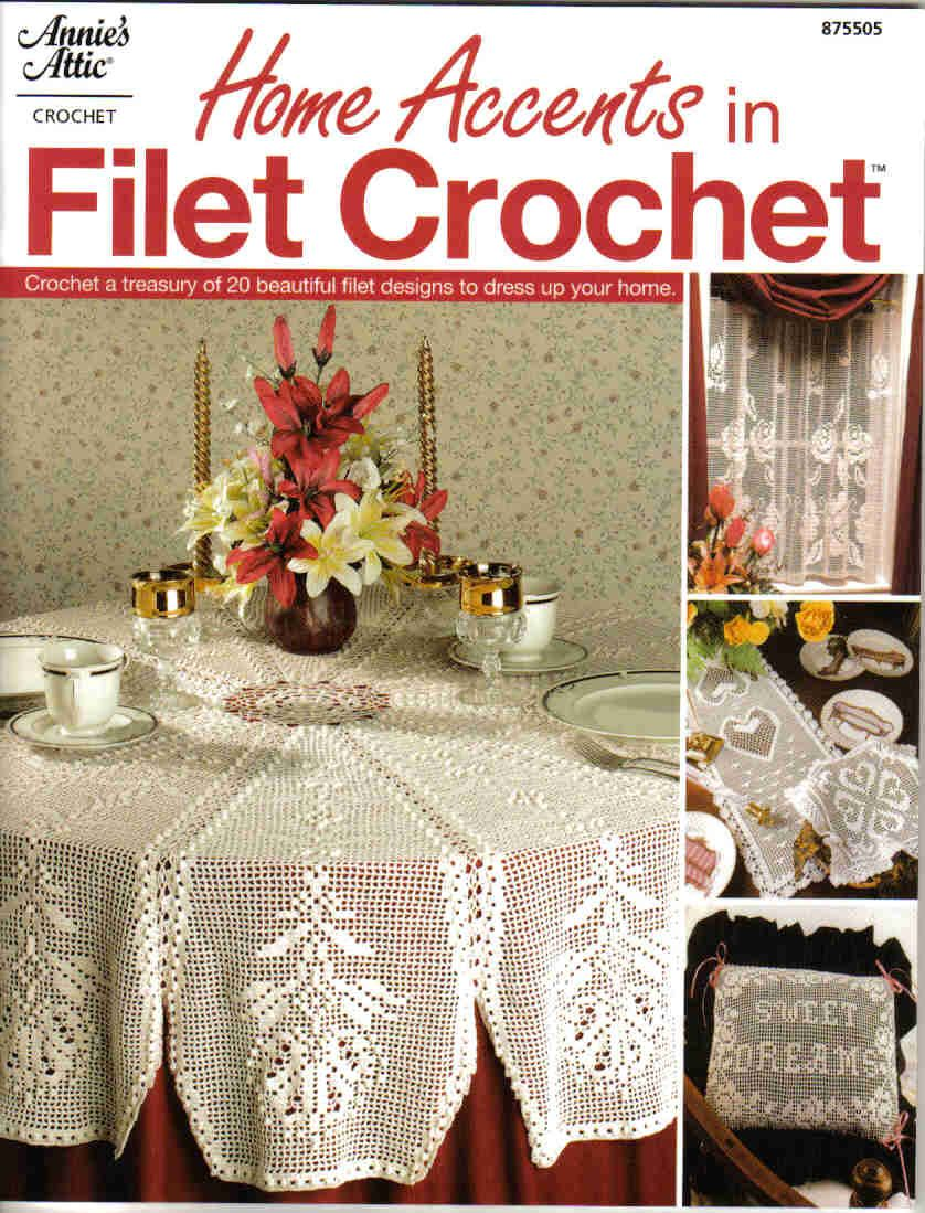 Home accents in filet crochet | tejidos para la casa | Pinterest ...