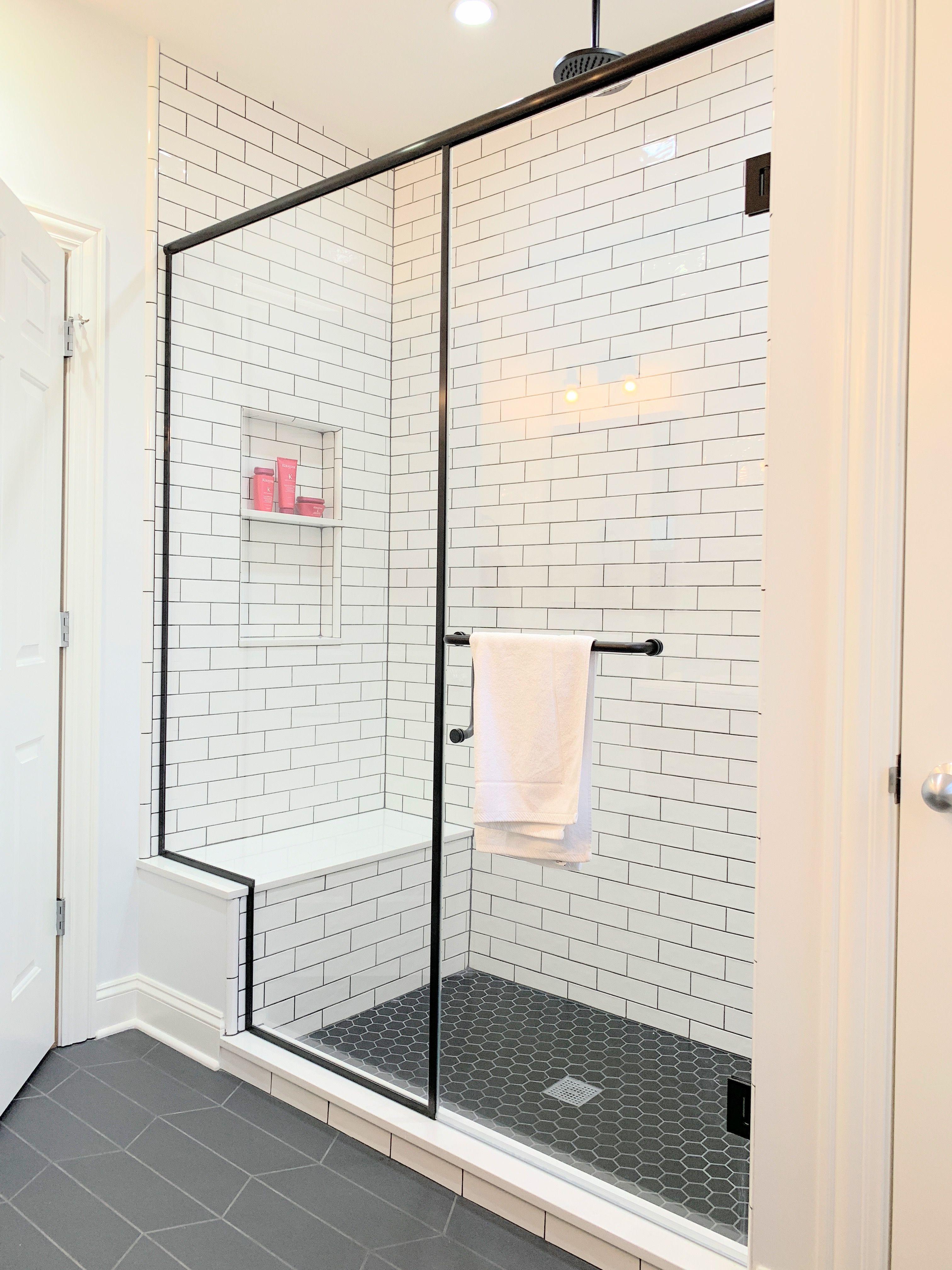 Elegant Semi Frameless Shower Slider With Rain Glass And