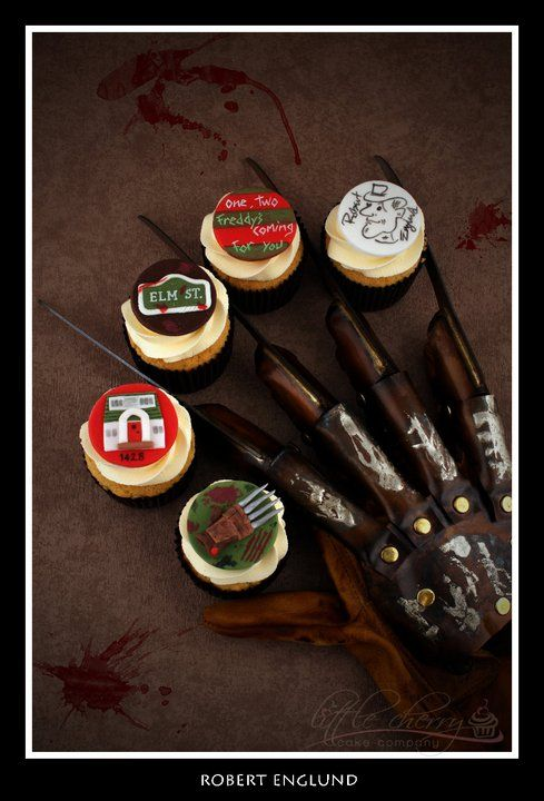 Freddy Krueger Cupcakes For Mr Robert Englund 171 171 Your