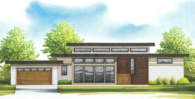 Mid Century Modern Architecture For A New