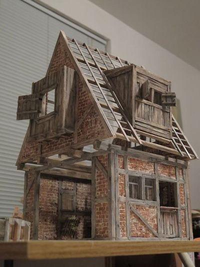 amazing detail by r michael palan h user pinterest puppen puppenstube und miniatur. Black Bedroom Furniture Sets. Home Design Ideas