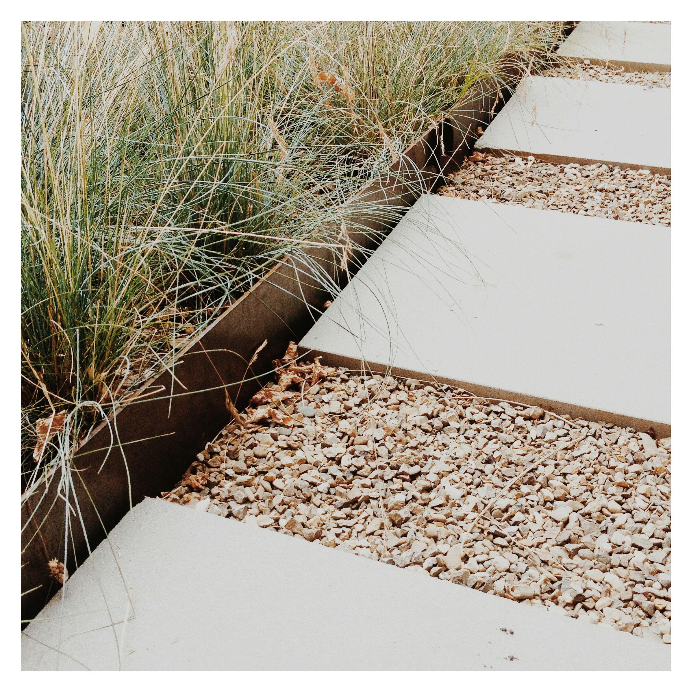 Corten Steel Path Landscape Architects Landscape Design Landscape Architect Front Garden Design