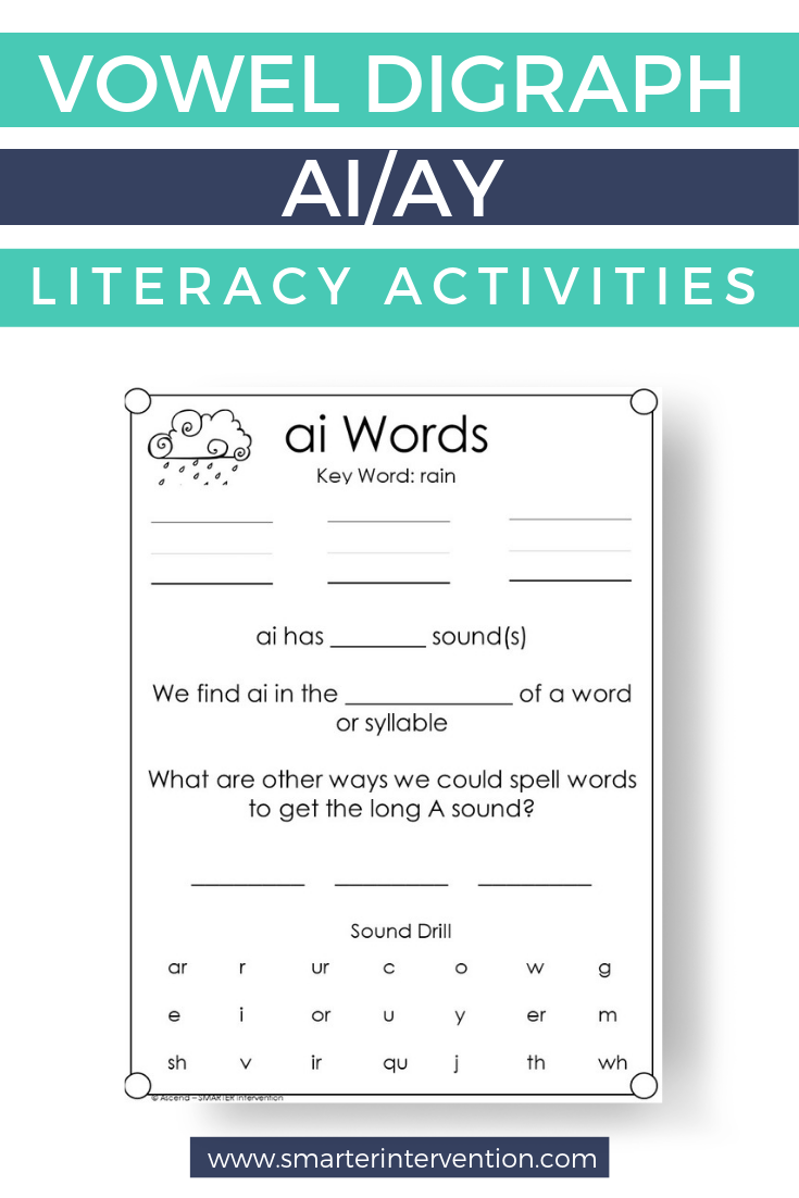 hight resolution of ai Reading \u0026 Spelling Lesson INCLUDES DIGITAL   Teaching spelling
