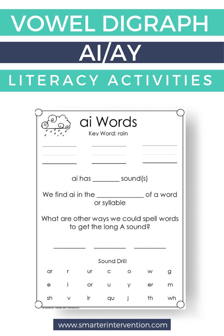 ai Reading \u0026 Spelling Lesson INCLUDES DIGITAL   Teaching spelling [ 1102 x 735 Pixel ]