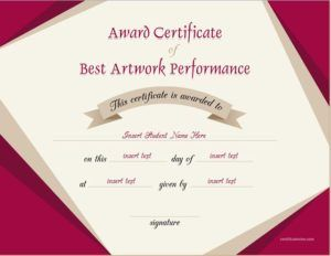 Best artwork performance award certificate template for ms word best artwork performance award certificate template for ms word download at httpcertificatesinn yadclub