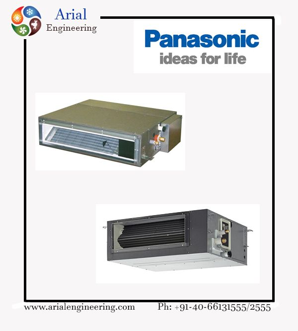 Panasonic Air-conditioning products from Arial Engineering Services