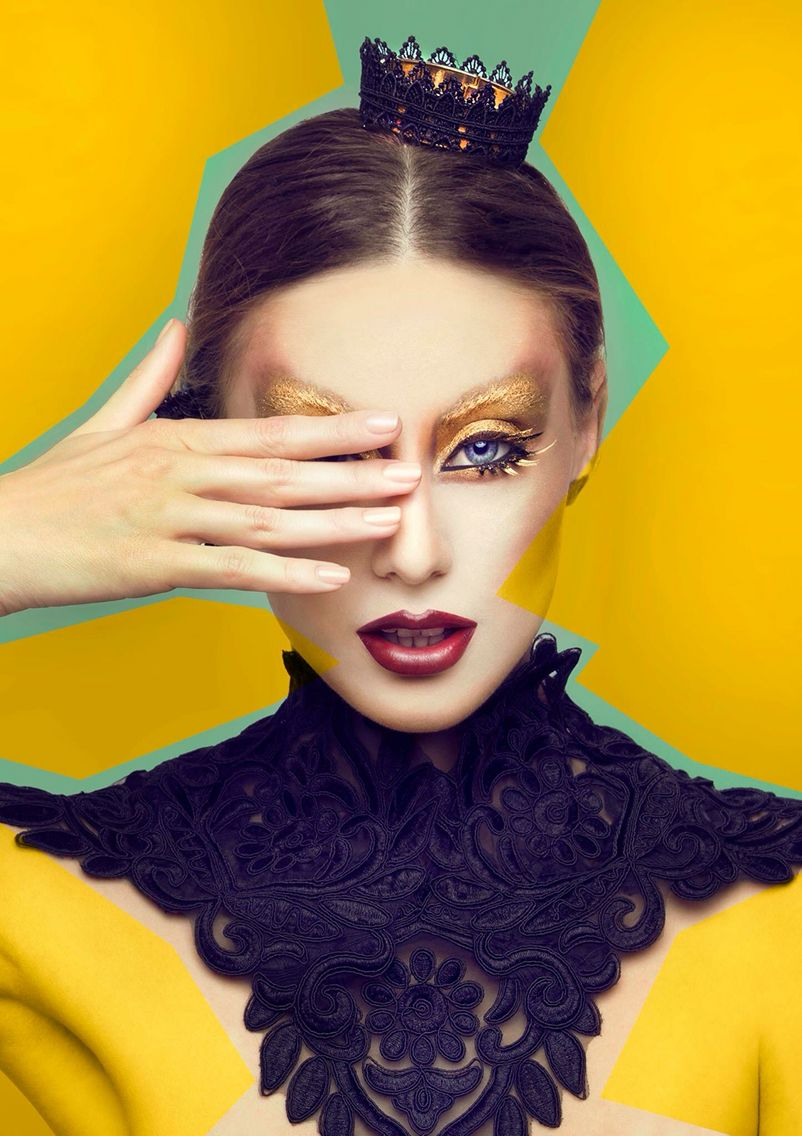 Alina Sava creative makeup, editorial makeup, fantasy makeup, beauty