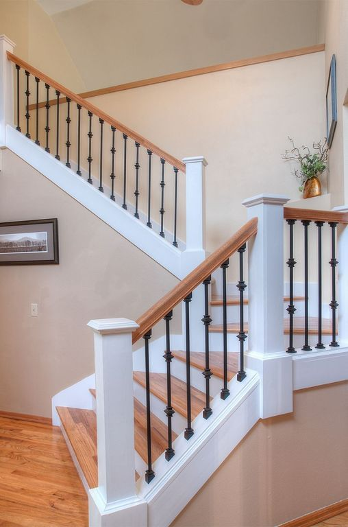 Best Traditional Staircase With Hand Scraped Maple Sedona 400 x 300