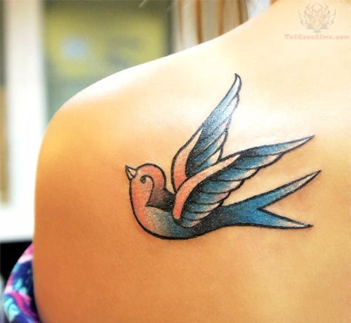 52 Traditional Swallow Tattoo Designs And Meaning Tattoos