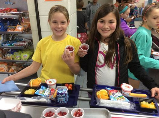 Fifth Graders at Lakeside Elementary - Coppell ISD (TX) enjoyed this yummy  fruit you