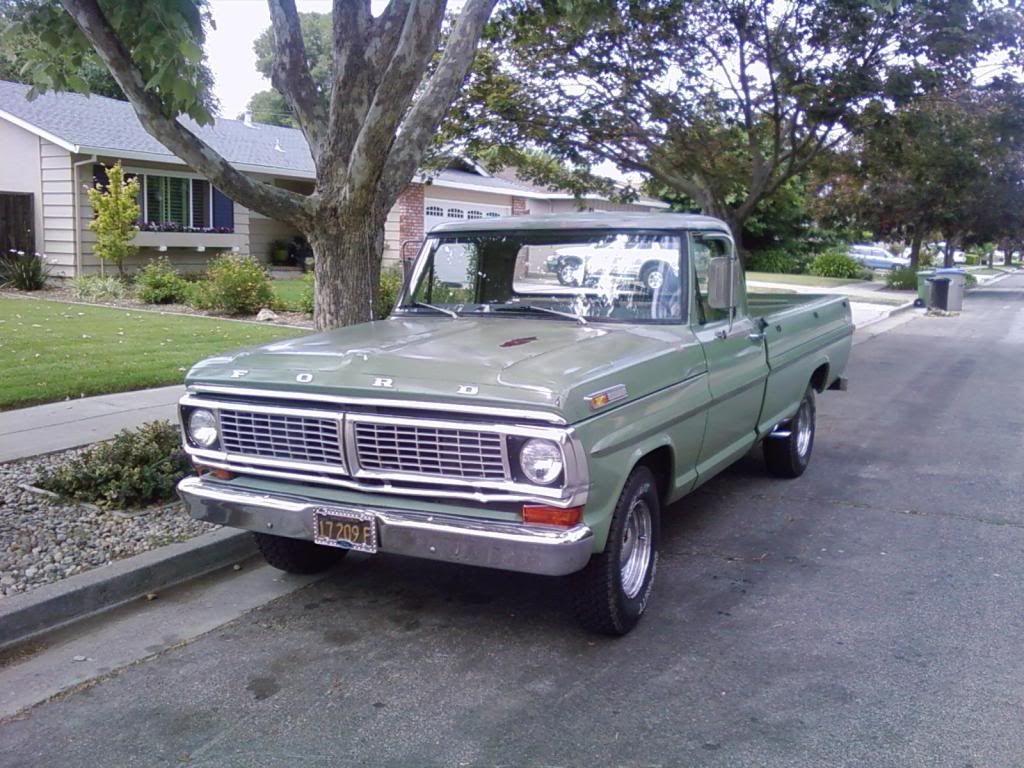 1970 Ford F100 Wheelsnuts Pinterest Camionetas Pickup Truck Verdades Camino Carros Clasicos