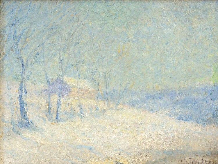 John Henry Twachtman - Winter Landscape