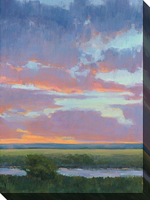 Piece Wrapped Canvas Nature Landscape Earth Colors