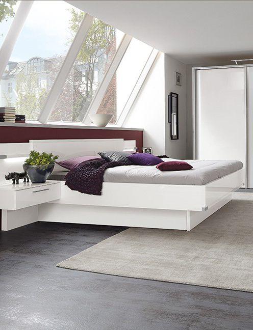 Schlafzimmer My Way Elegant in Weiß \ Grau bringt das moderne - nolte schlafzimmer schränke