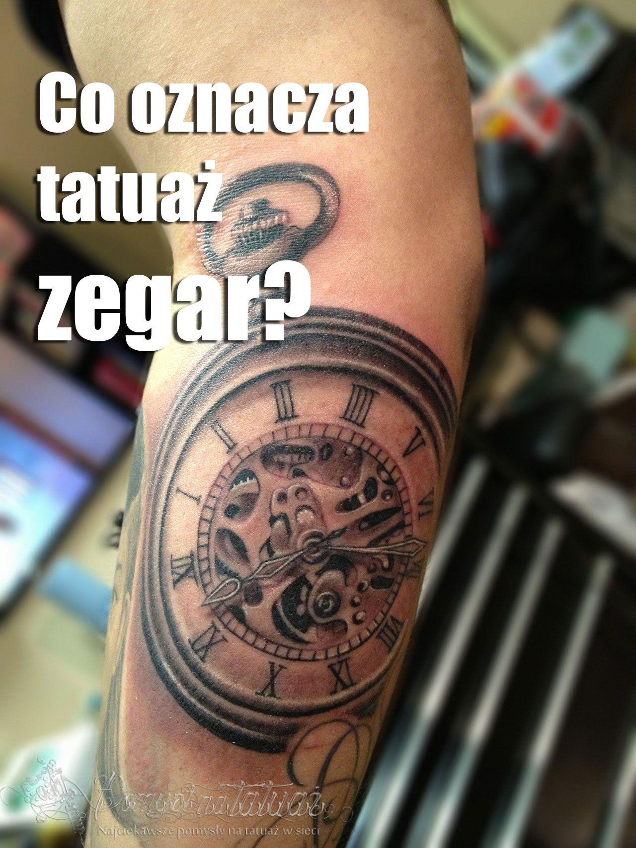 Odkrywamy Znaczenie Tatuażu Zegar Czy Przemijanie Da Się