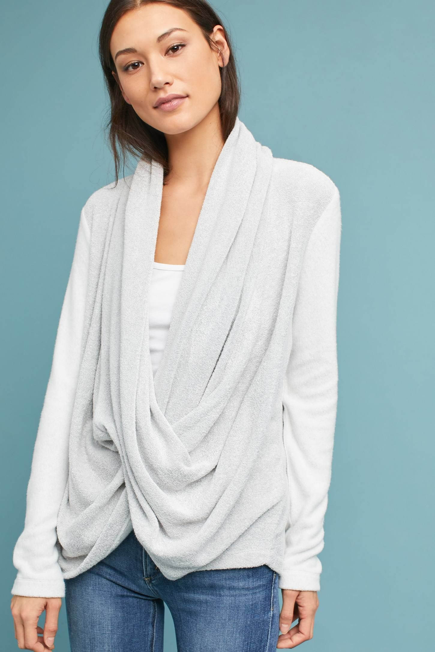 Draped CrissCross Top Fall maternity outfits, Cross