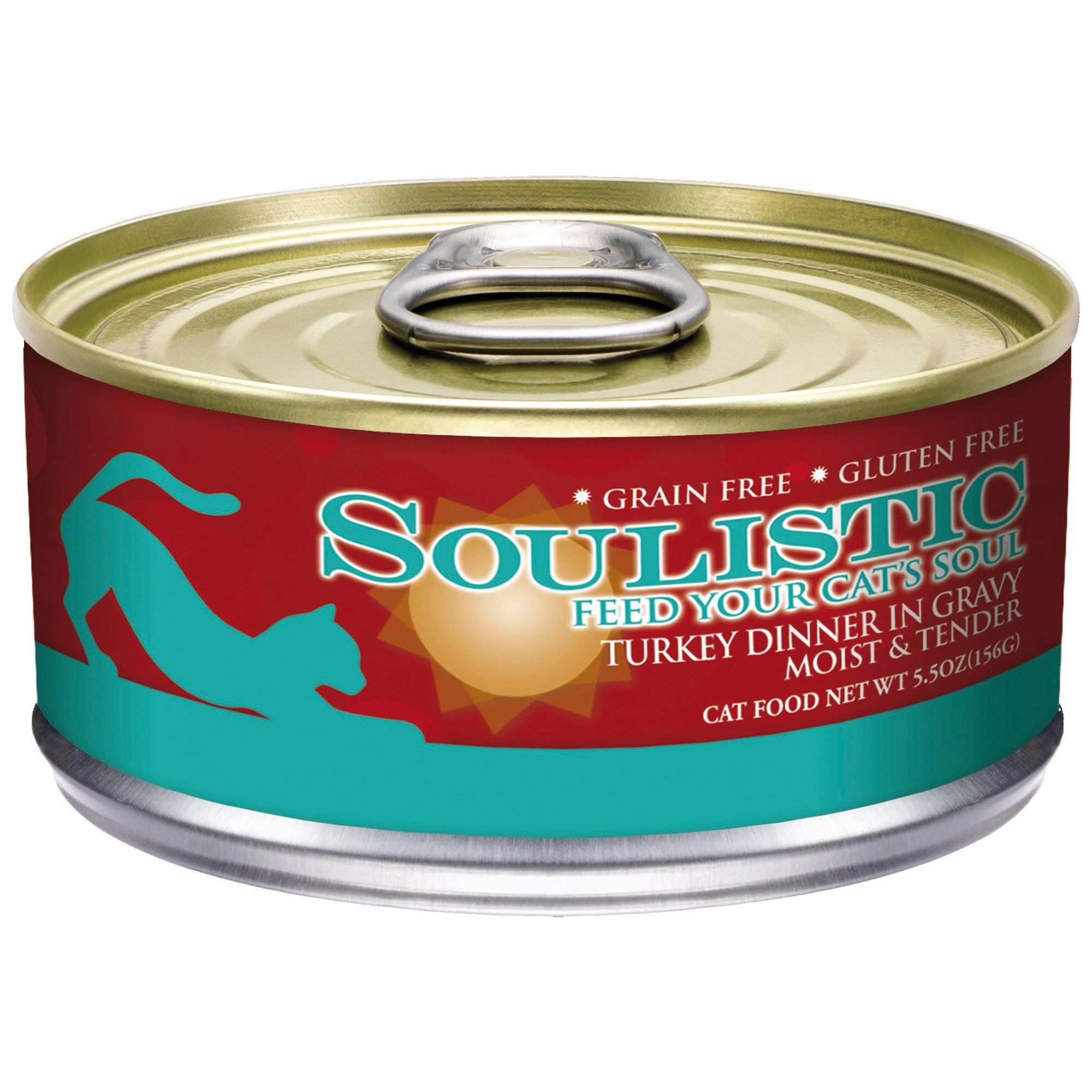 Soulistic Moist and Tender Turkey Dinner Adult Canned Cat