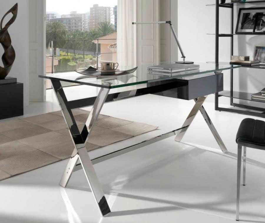 14 Amazing Office Table Designs With Glass Top Office Table Design Modern Office Table Design Modern Office Desk Design
