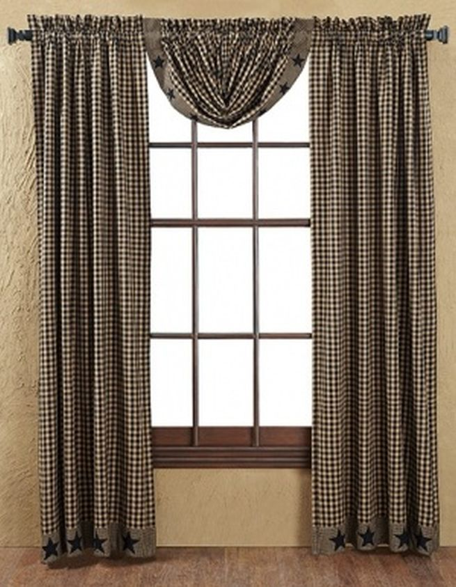 Primitive Curtains Cheap Primitive Curtains Primitive Homes Primitive Country Homes