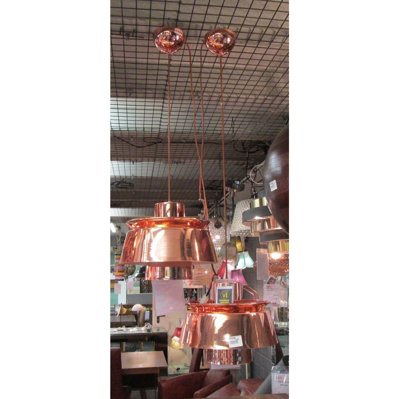 Hängelampen kare design hängeleuchte cubeto copper aussteller