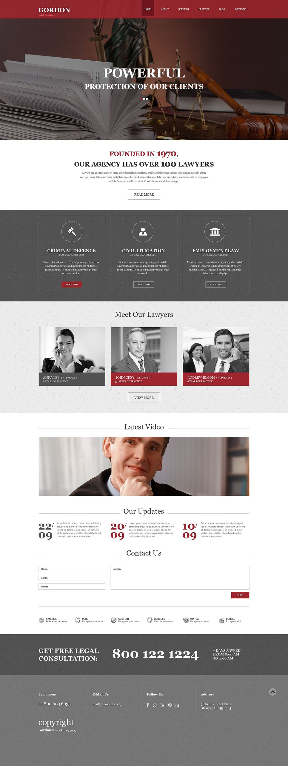 Law Firm Muse Template 52048 Law Firm Website Design Law Firm Website Law Firm