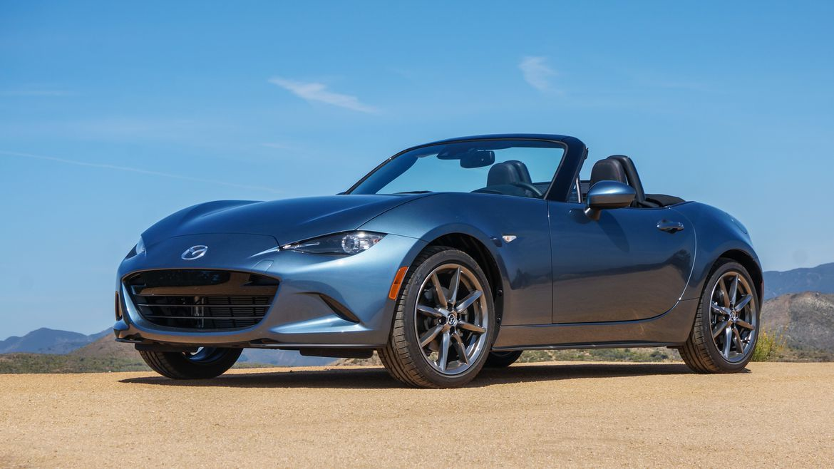 2016 Mazda MX5 Miata Grand Touring (pictures)