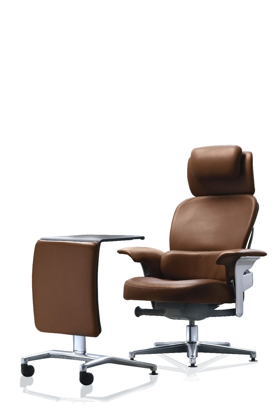 SteelCase Leap Work Lounge Chair with ottomandesk Cool