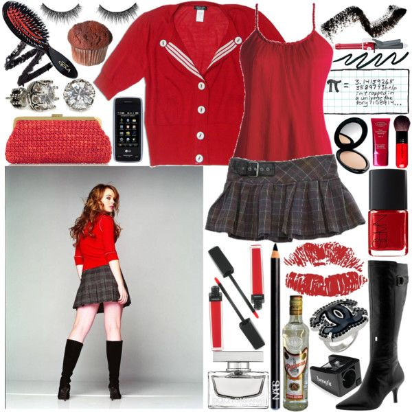 """M is for Mean Girl"" by metalheavy on Polyvore"