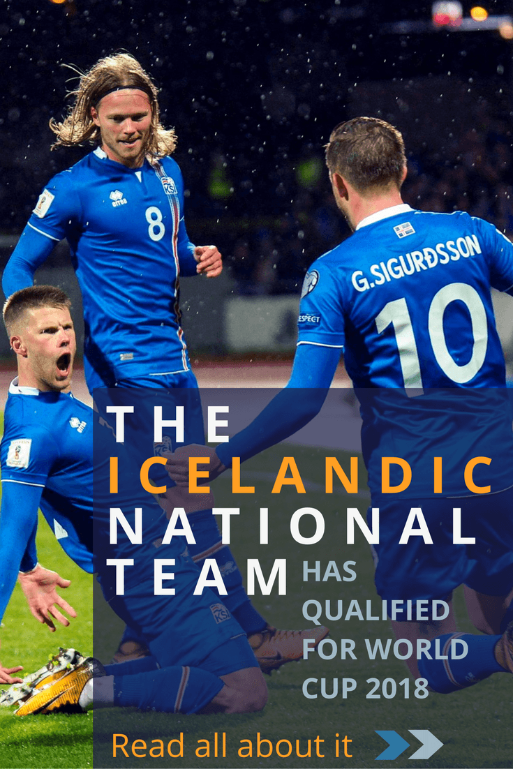 75a6359f7 The Icelandic men's national team has qualified for the 2018 World Cup -  Read all about it!
