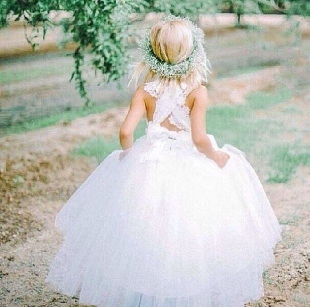 Flower girl - lace
