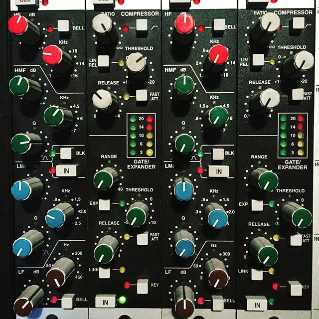 Ada Blackstar On Instagram Ssl 4000 E Series Channel Strip Ssl Studio Mix Solid State Logi Music Recording Equipment Recording Equipment Recorder Music