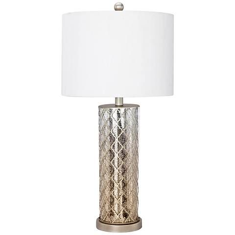 Henry Mercury Glass Antique Gold Table Lamp With Night Light 10h29 Lamps Plus Gold Table Lamp Lamp Table Lamp
