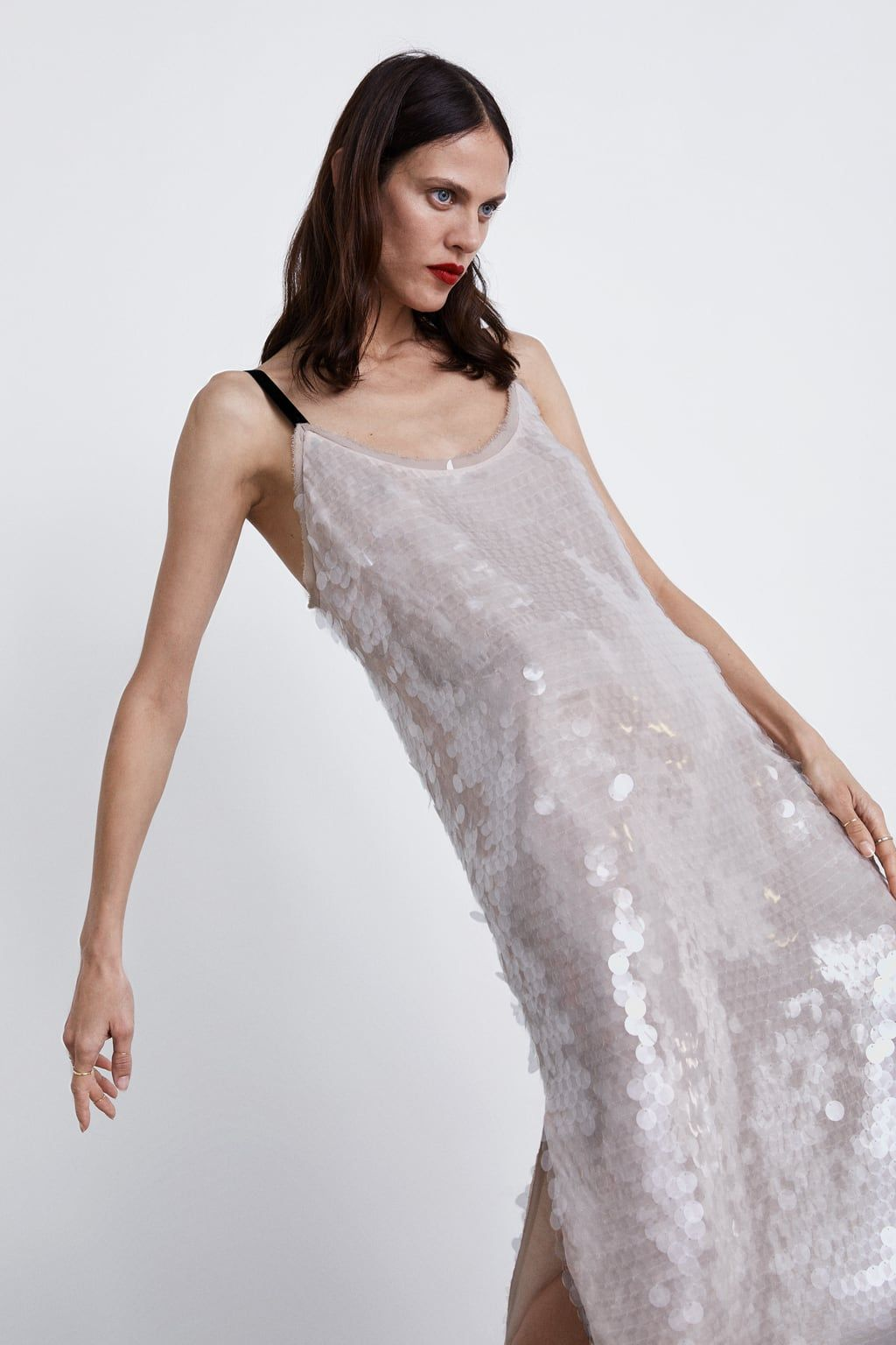 15acd48d91 Image 4 of SEQUIN DRESS from Zara