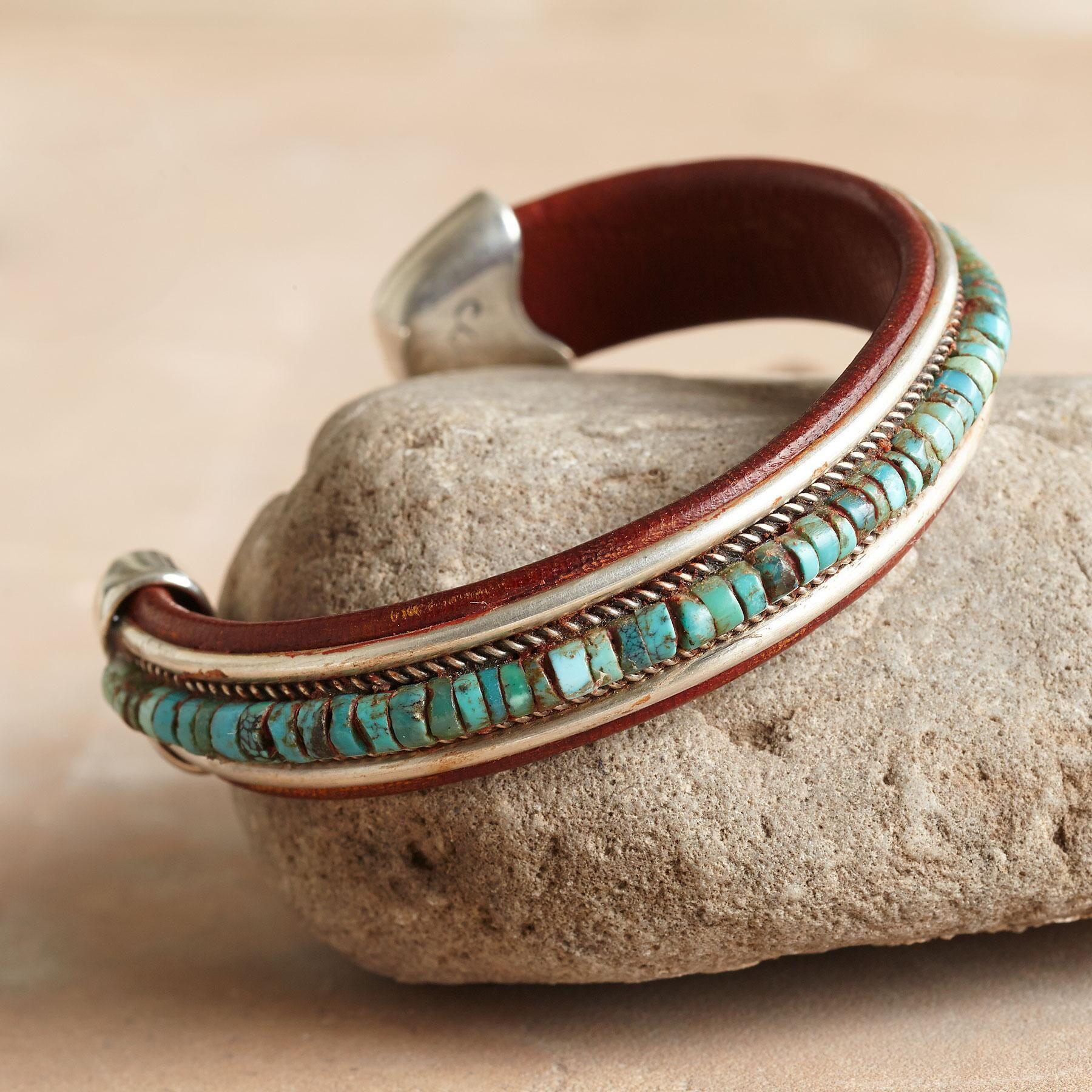Turquoise Spectrum Cuff Bracelet[Picked from SUNDANCE