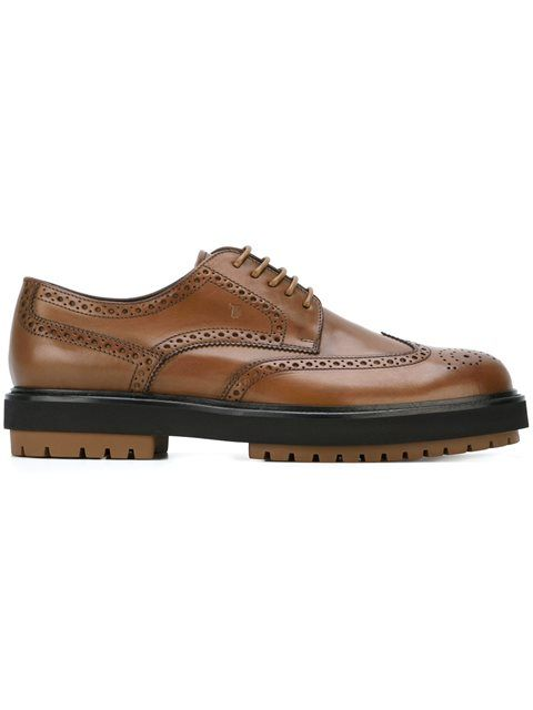 579b54e037 TOD'S Double Sole Brogues. #tods #shoes #flats | Tod'S Men | Shoes ...