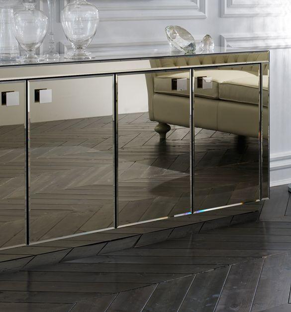 smoked mirrored furniture. Smoked Mirrored Buffet And Mirror. Furniture M