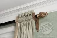 Curtain Rod Placement With Crown Molding Curtain Rods Curtains