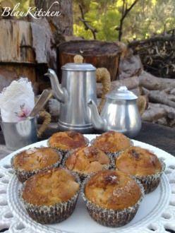 Muffins de Pera y nueces