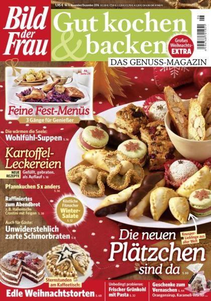 Bild der Frau Gut Kochen & Backen - November-Dezember 2016