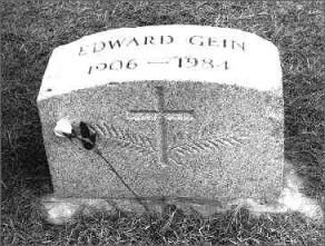 Ed Gein Gravestone With Images Serial Killers