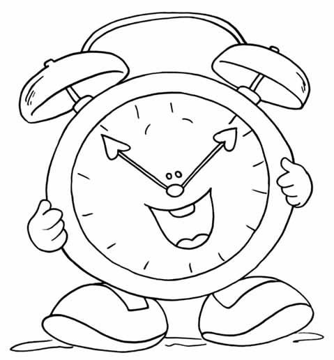 Pin De Su Iveth En Fichas Reloj Animado Reloj Para Niños Y Niños