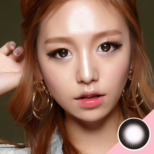 LENS TOWN SCL Black  Brand : [Lens Town] SCL Manufacturer : Lens Town Dia : 14.3mm BC : 8.8mm Graphic Dia : 13.8mm Weight : 42g Period of Use : 6 months ~ 1 year after opening