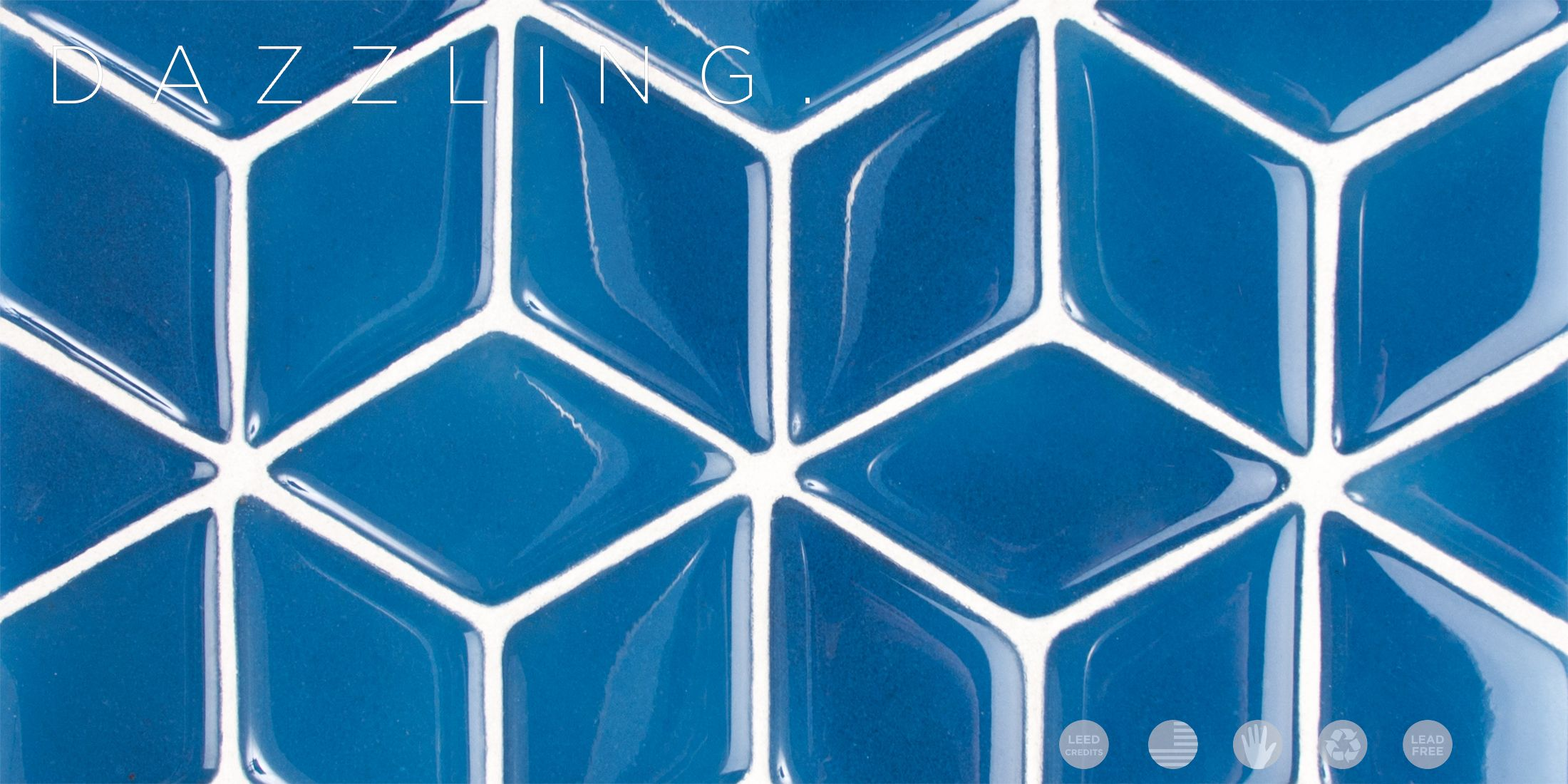 Backsplash: Crush Recycled Glass Tile – Glass Tile Mosaic - Fireclay ...