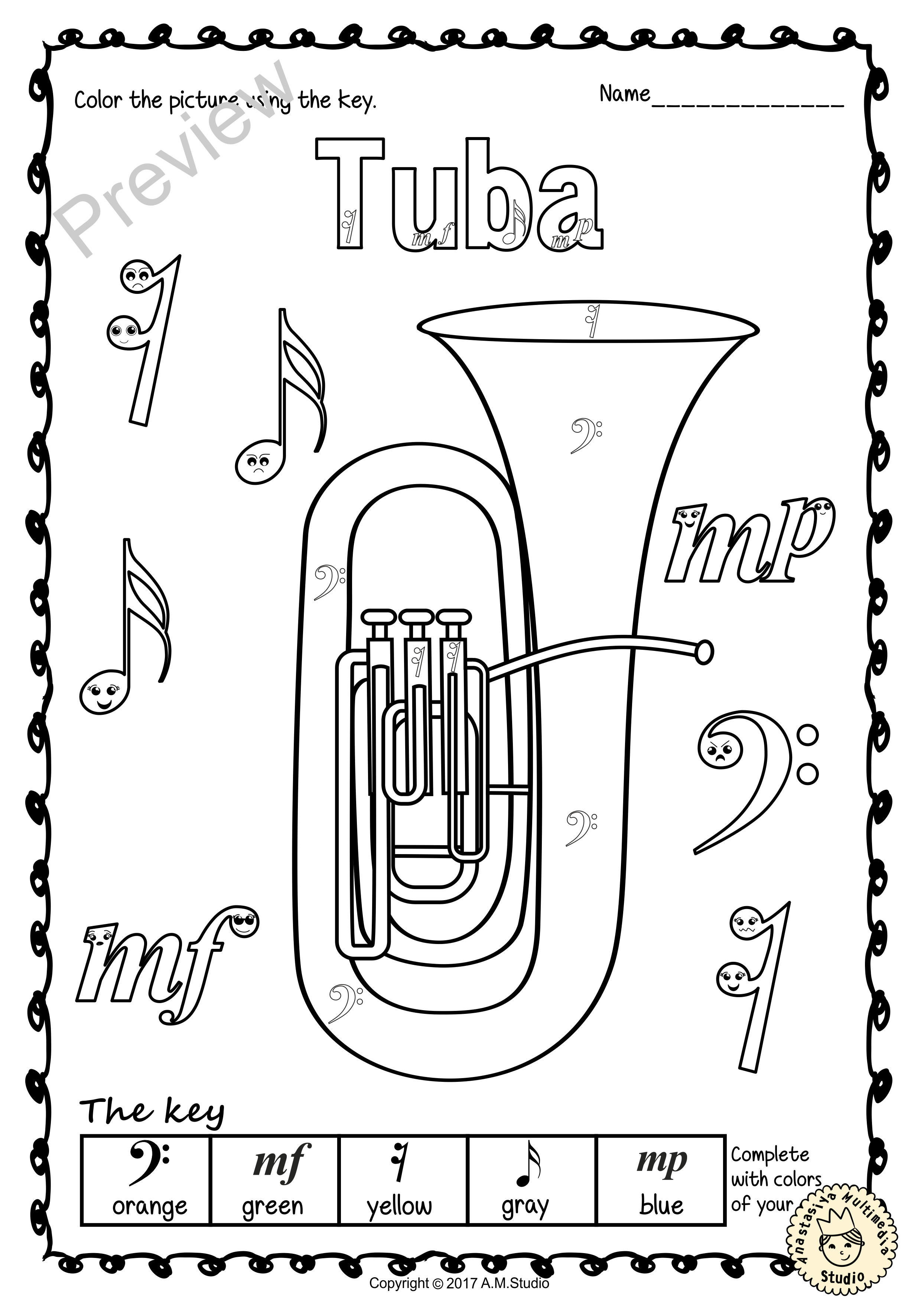 This Set Contains 7 Images Of Brass Instruments Bugle Cornet