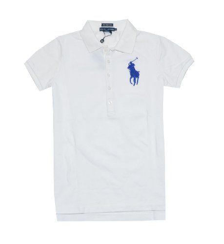 Ralph Lauren Women The Skinny Polo Big Pony Logo T-shirt $59.99 (save $38.01)